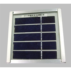 Panneau solaire 2V 0,5W 100x100x22mm polycristallin