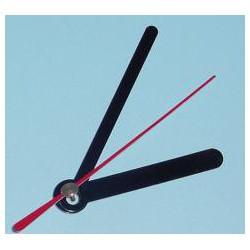 Jeu de trois aiguilles noires pour mécanisme pendule