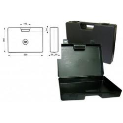 Mallette noire plastique 509x360x116mm