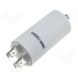 Condensateur de démarrage à cosses 10µF 450V
