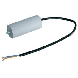 Condensateur de démarrage 3µF 450V à sorties sur fils