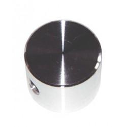Bouton aluminium à vis 20x15mm