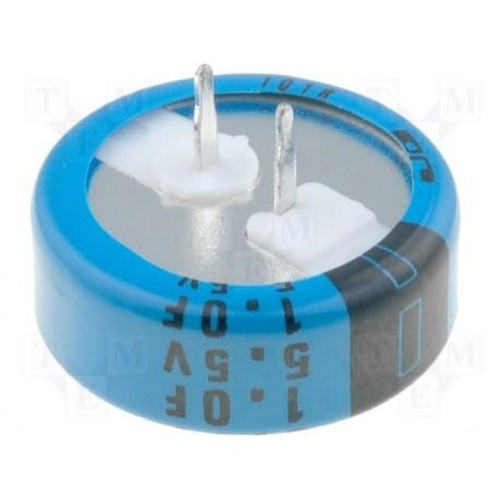 Condensateur Backup 21x7,5mm 1F 5,5V pas 5mm