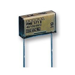 Condensateur polypropylène MKT X1 47nF 300Vac classe X1 au pas de 15mm