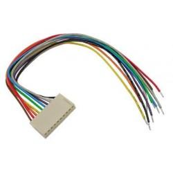 Connecteur HE14 pré-cablé 2,54mm 6cts 20cm
