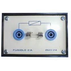 Porte-fusible 5x20mm sur boitier isolé