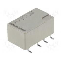 Relais CMS Te-C DPCO 2R/T 5Vcc contact 2Amp.