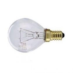 Ampoule claire sphérique E14 230V 25W