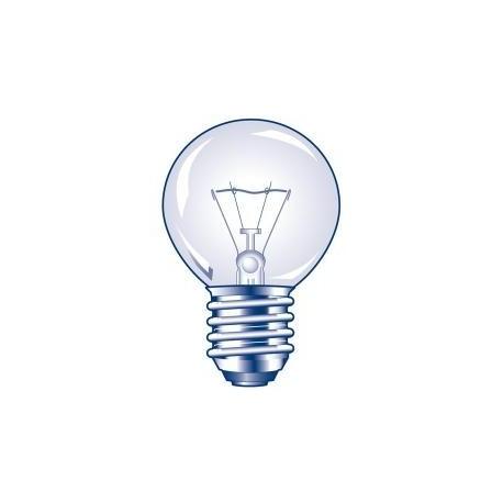 Ampoule claire sphérique E27 230V 25W