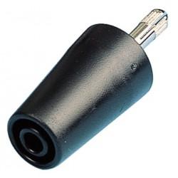 Adaptateur de sécurité 4mm noir