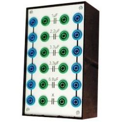 Bôite de condensateurs 1 à 6,8µF 100V 5%