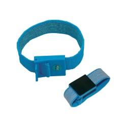 Bracelet antistatique 22x2cm avec pression 10mm