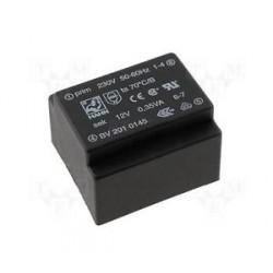 Transformateur moulé 230Vac / 9Vac 0,35VA