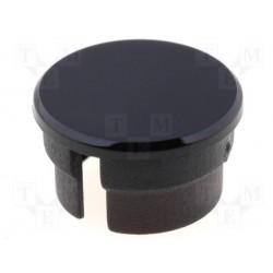 Capuchon noir pour bouton 16mm pour bouton KN156x