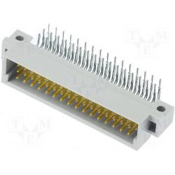 Connecteur din41612 C/2 a+b+c 48pts mâle coudé