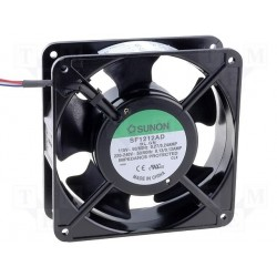 Ventilateur 115/230V 119x119x38mm 161m³/h 44dBA