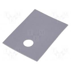 Isolant souple silicone pour boitier TO220