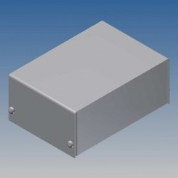 Coffret aluminium 102x72x43mm