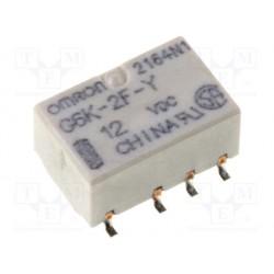 Relais CMS type Omron G6K 2R/T 12Vdc