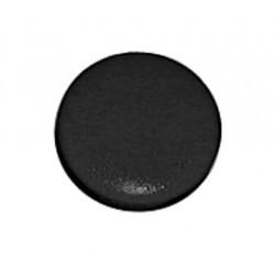 Capuchon noir pour bouton 21mm KN216