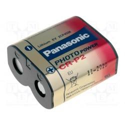 Pile lithium type CR-P2 6V 1400mAh