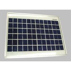 Panneau solaire 17V 20W 495x365x18mm monochristallin