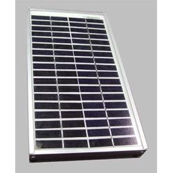 Panneau solaire 17V 5W 250x185x18mm monochristallin