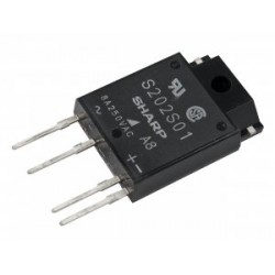 Relais statique SIP4 8Amp. 600V S202S01F
