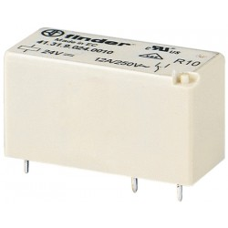 Relais type Finder 4131 1R/T 12Vdc 12Amp.