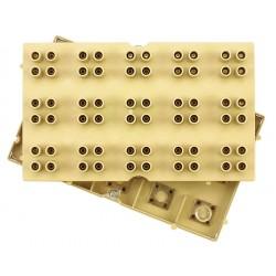 Plaque d'essais de sécurité 60 douilles 4mm