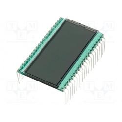 Afficheur LCD 4 digits 51x30mm pour C.I.