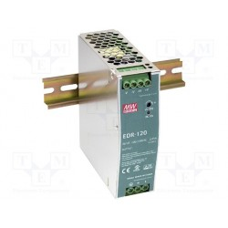 Alimentation Mean-Well pour rail-din 120W - 90/264Vac - 24Vdc - 5Amp.