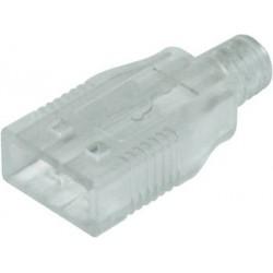 Capot plastique pour fiche USB type A