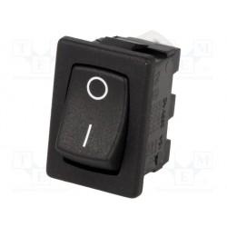 Interrupteur à bascule unipolaire clipsable on / off