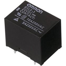 Relais Omron type G5LE-1 1R/T 24V 10Amp.