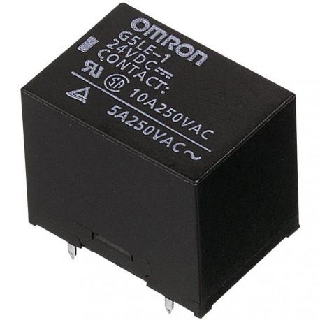 Relais Omron type G5LE 1R/T 24V 10Amp.