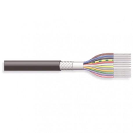 Câble blindé 18cdts 0,14mm + masse