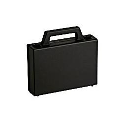 Vallisette plastique noire dimensions intérieures 135x94x31mm