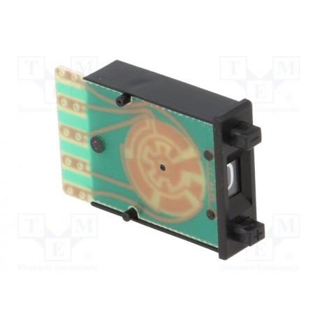 Roue codeuse à codage BCD à poussoir 22 x 7,62mm