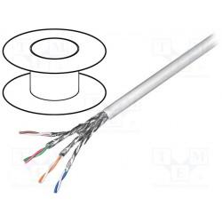Câble réseau rigide AWG23 FTP cat6 4 paires