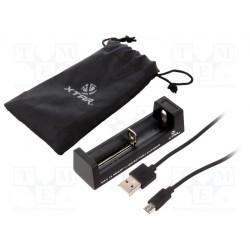Chargeur pour accu Li-ion avec cordon USB