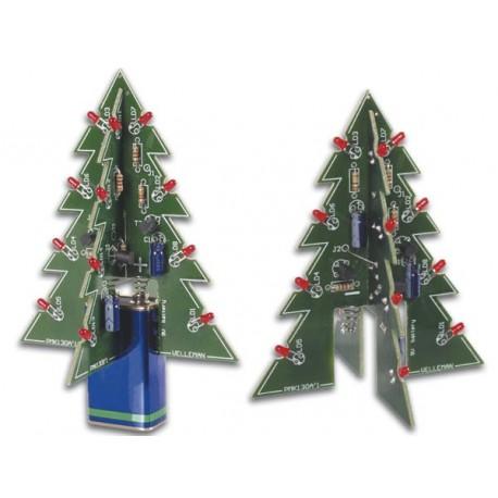 DEL clignotant Velleman Kit-MK100B-Arbre de Noël