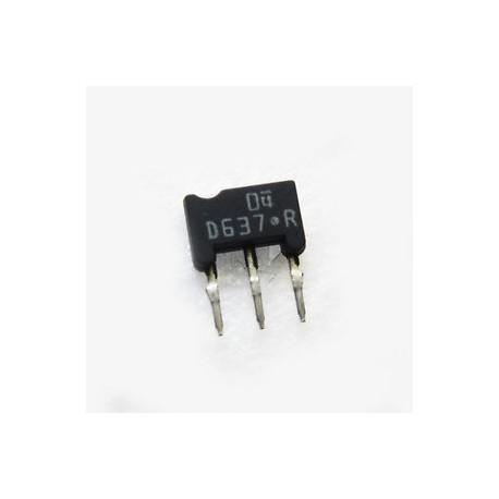 Transistor boitier M-A1 NPN 2SD637