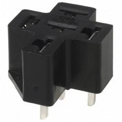 Support relais type automobile pour circuit imprimé