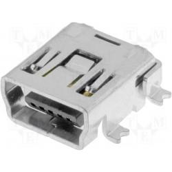 Embase mini USB CMS 5pts type B
