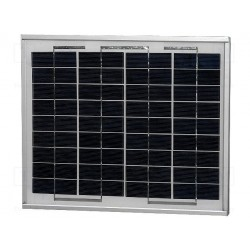 Panneau solaire polycristallin 17V 10W 330x290x25mm