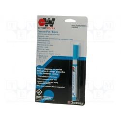 Stylo applicateur de vernis acrylique vert 5ml