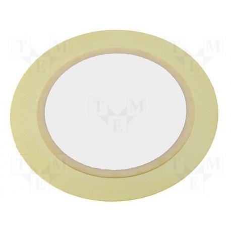 Disque piézo diamètre 27mm épaisseur 0,5mm