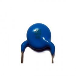 Condensateur céramique 6000V 2,2nF au pas de 9,5mm
