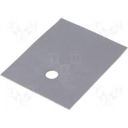 Isolant souple silicone pour boitier TOP3 / SOT93